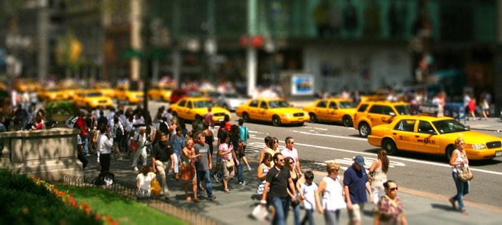 Passants sur 5th Avenue, New York City