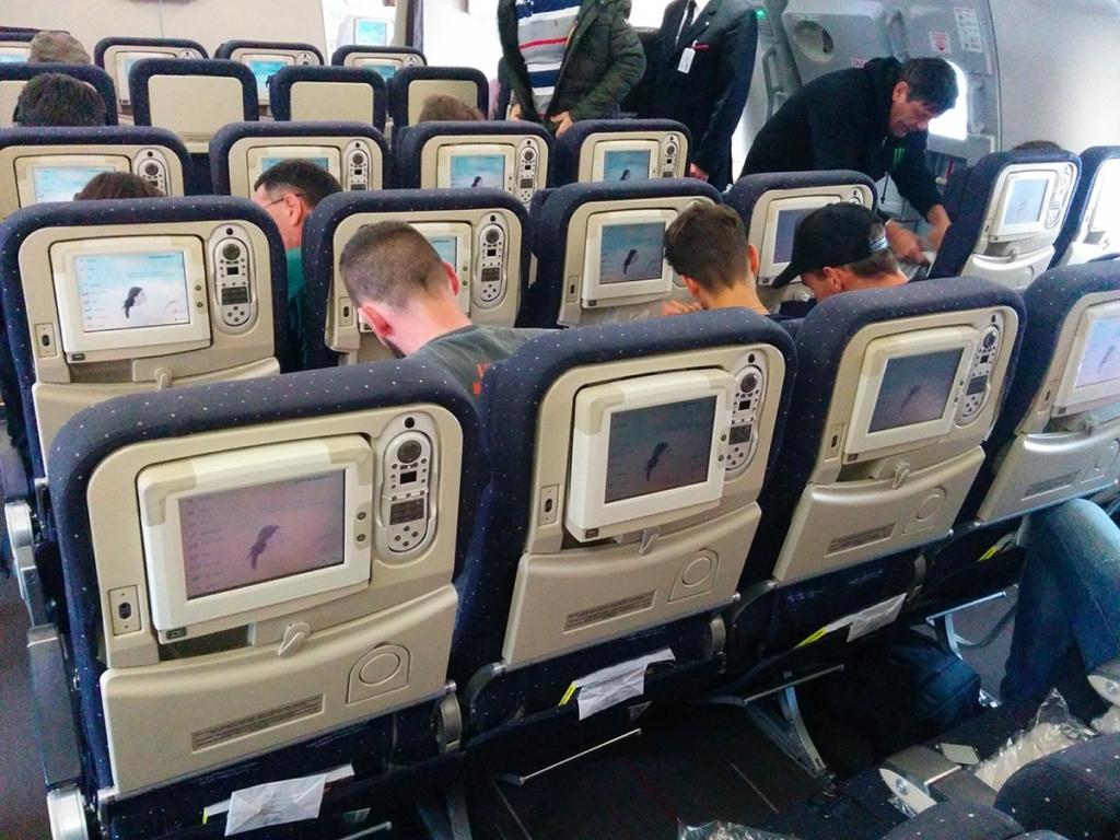 Air france paris new york blog voyage new york for Airbus a380 photos interieur