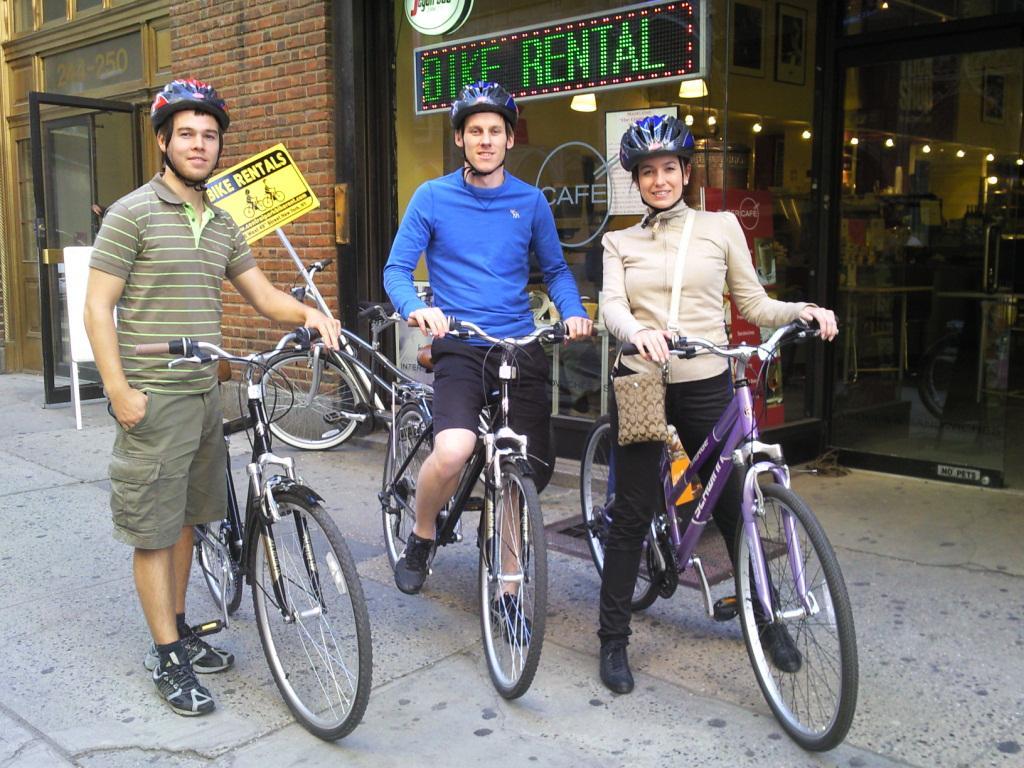 Louer un vélo à Central Park