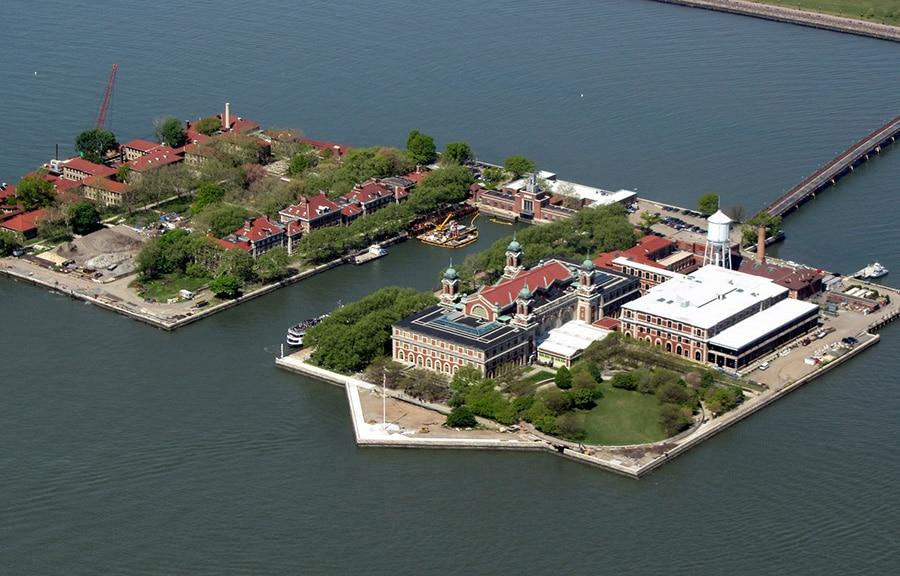 Ellis Island Et L Immigration