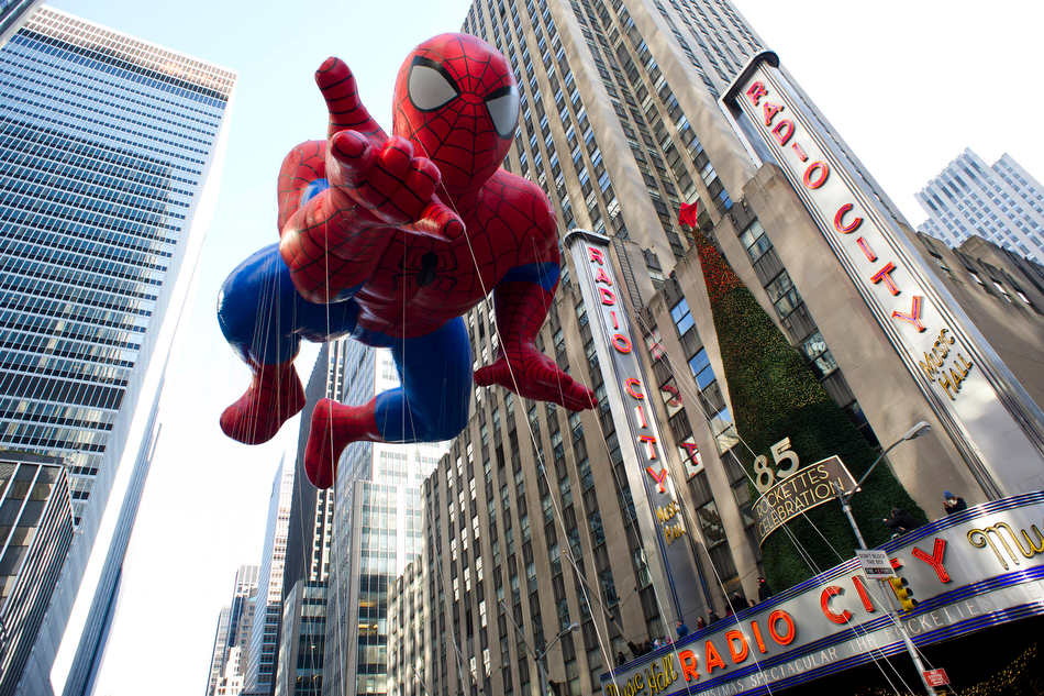 Parade Thanksgiving New York | Spiderman