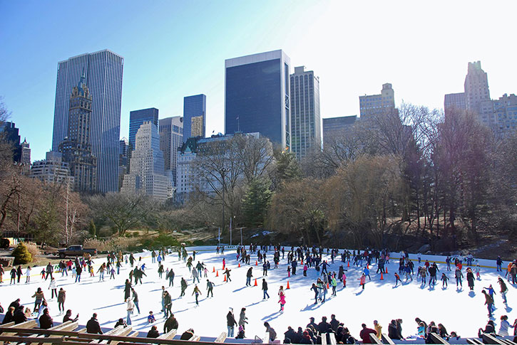 Patinoire Central Park New York