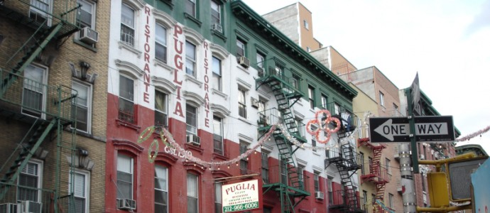 Little Italy, quartier de Manhattan New York