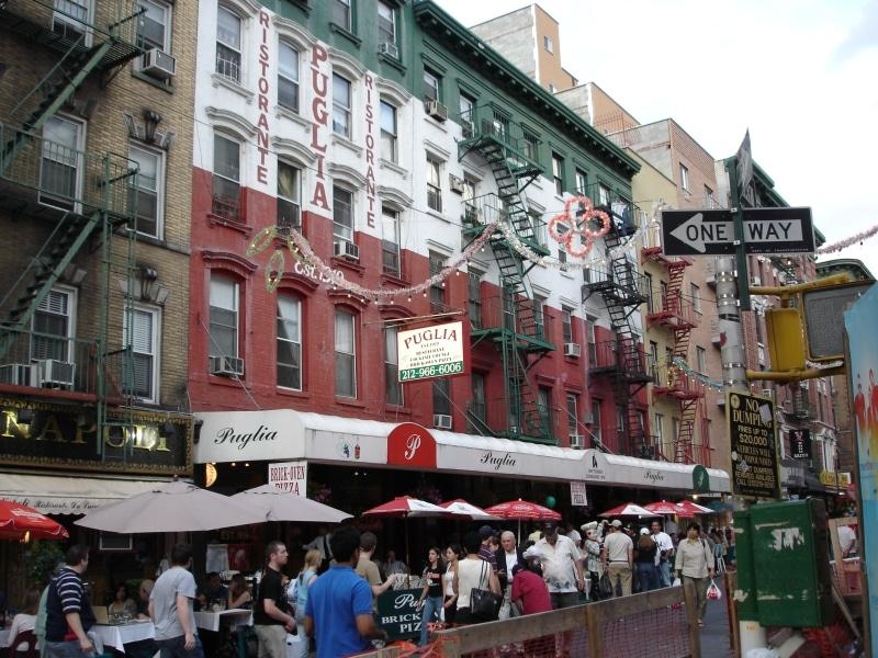 Little Italy, quartier de Manhattan New York