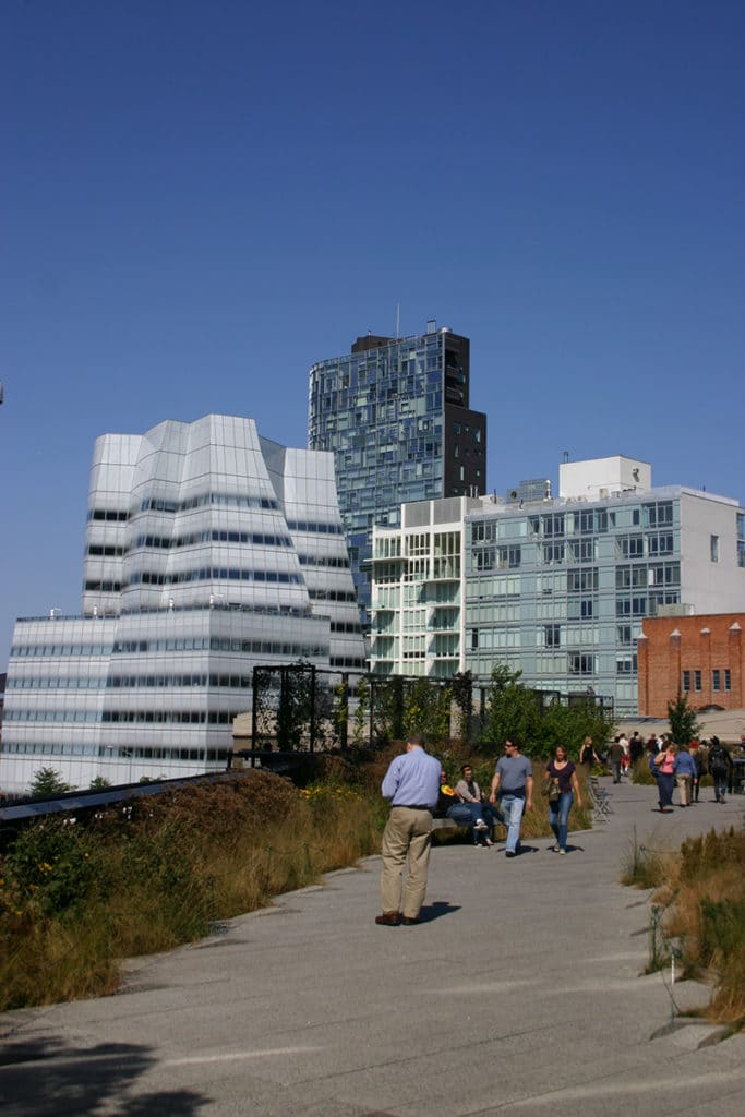 Aperçu de l'architecture de la high line de New York