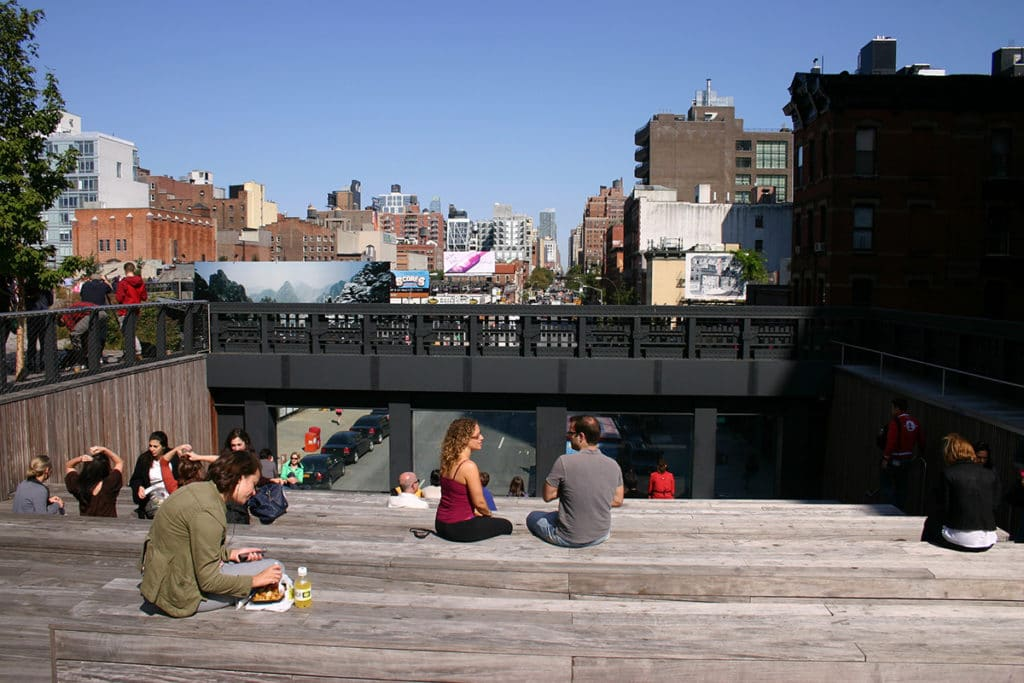 Théatre urbain high line New York