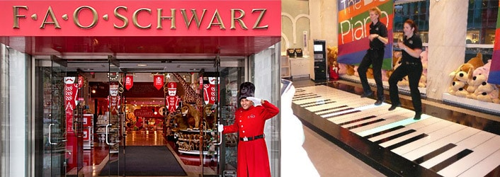 FAO Schwarz New York 5eme avenue