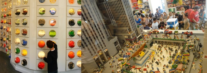 Magasin Lego Store Rockefeller New York