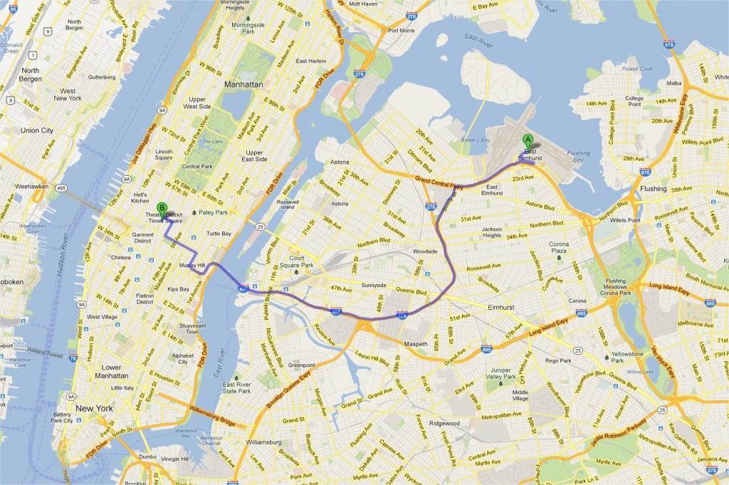 Comment rejoindre Manhattan depuis l'aéroport LaGuardia ?