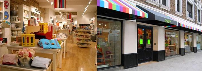 Giggle, magasin pour bébés à New York