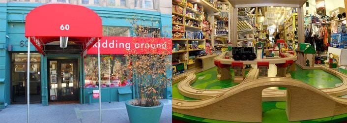 Kidding Around magasin de jouets en bois à New York 1698d59dd4d2