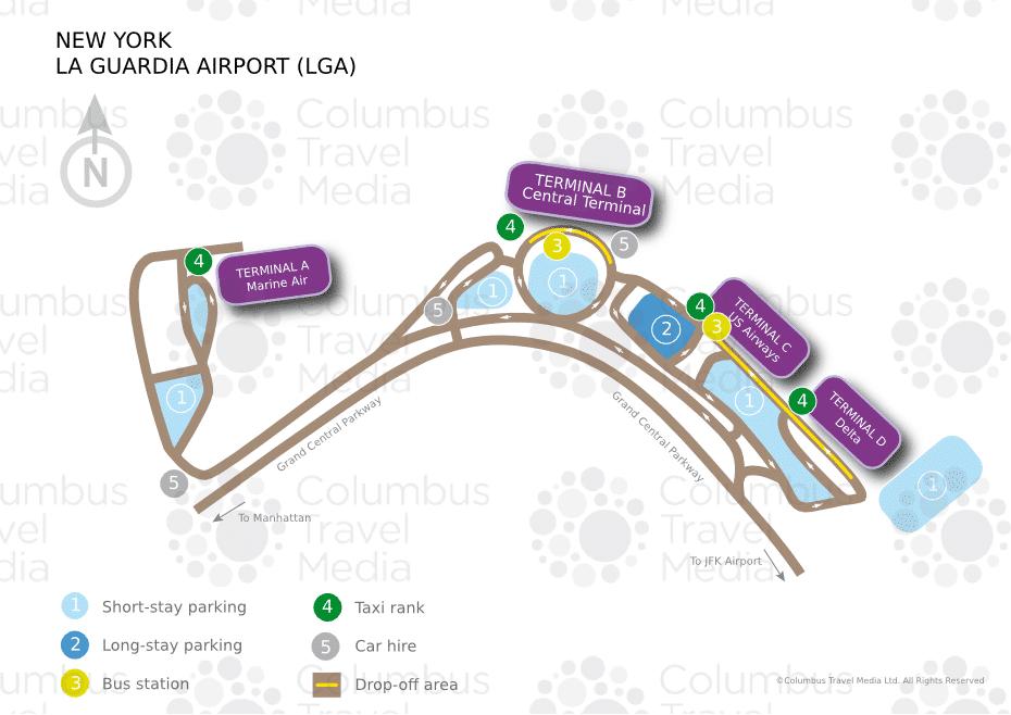New York Aéroport La Guardia