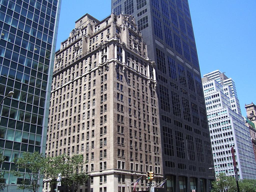 Gros changement dans la skyline de manhattan drake hotel new york