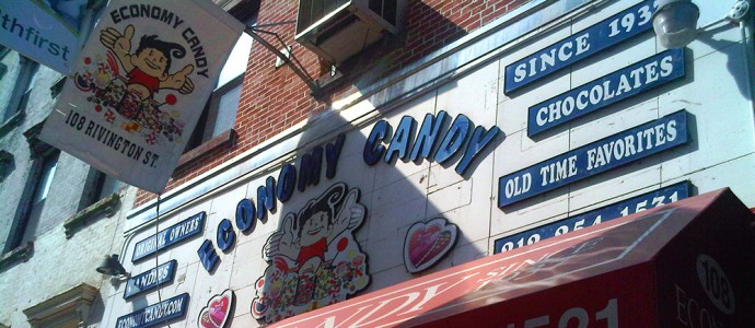 Economy Candy, magasin de bonbons New york