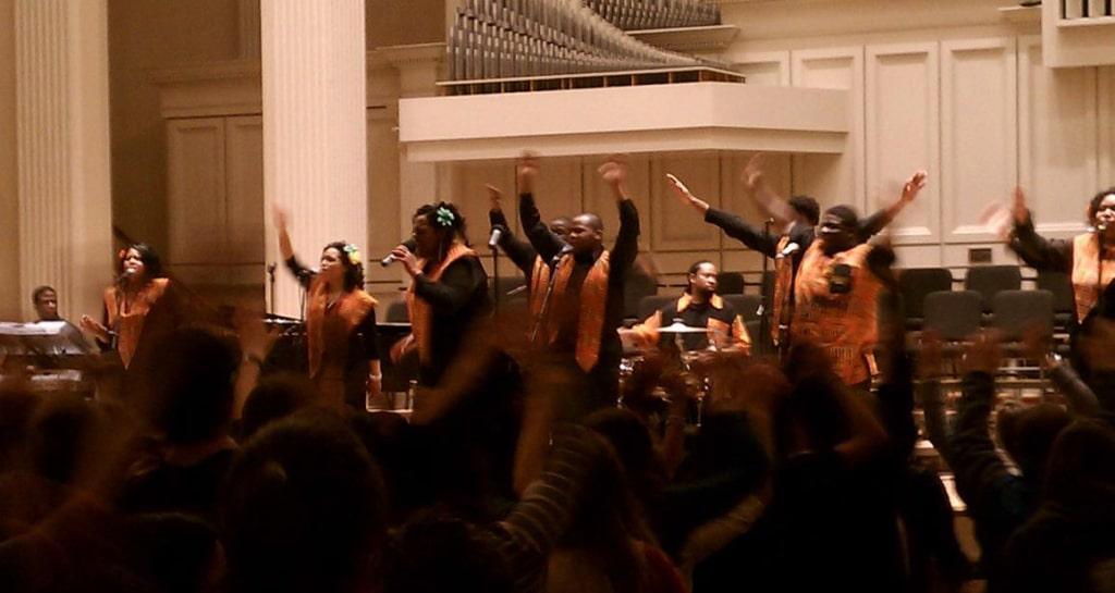 Messe gospel à Harlem New York
