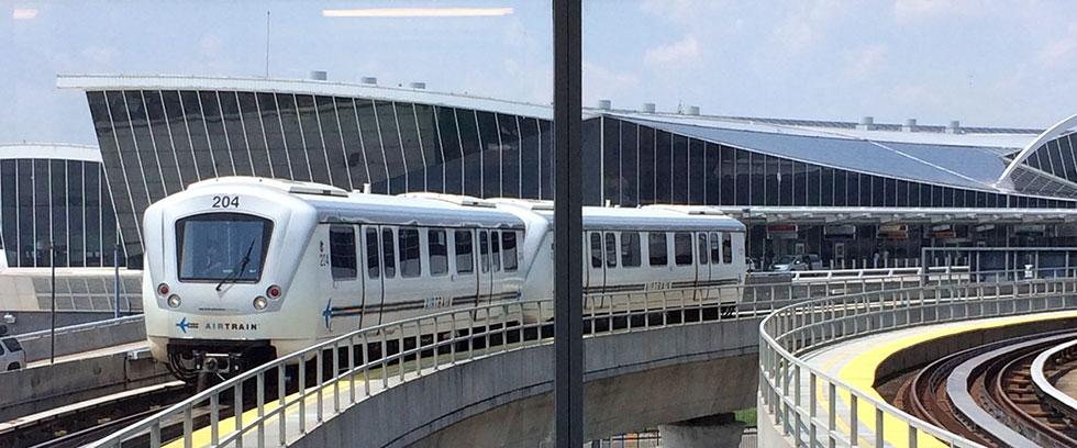 AirTrain, le métro interne à JFK New York