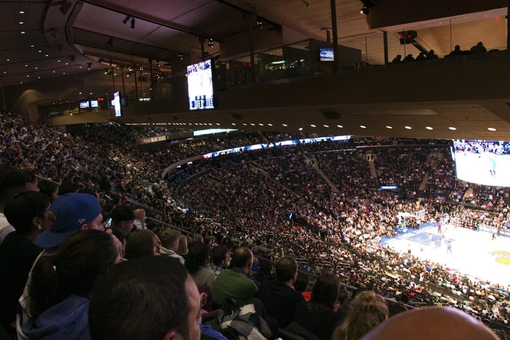 New York Knicks : Entrée Des Joueurs Au Madison Square Garden