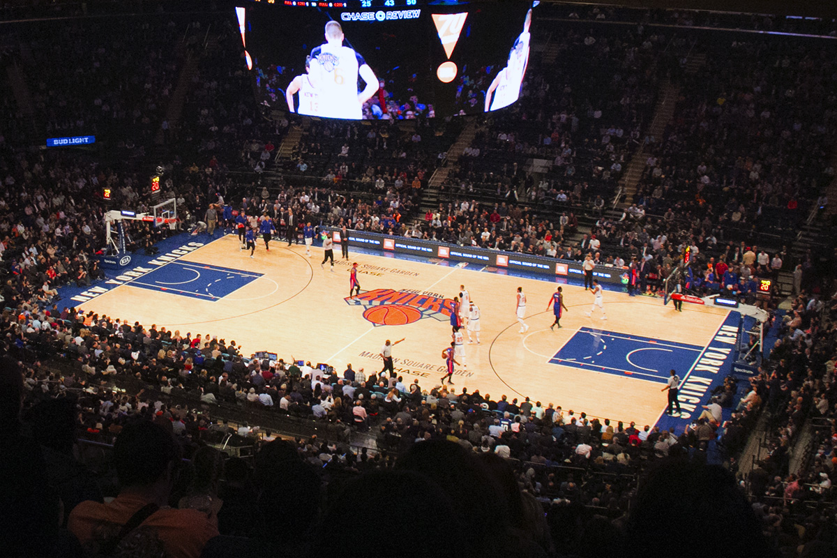 Faire Un Demi Terrain De Basket billets nba : match des new york knicks au madison square garden