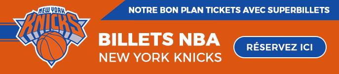 Réserver vos billets NBA pour les Knicks