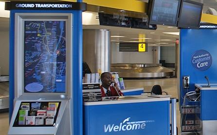 Aéroport JFK - Accueil visiteurs