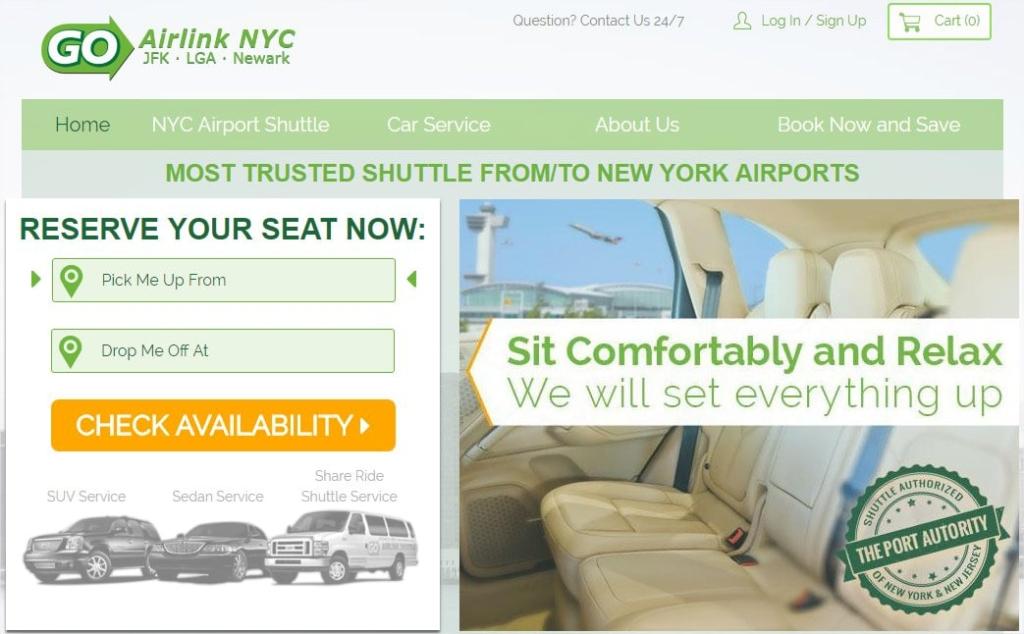 Réserver un shuttle pour Manhattan