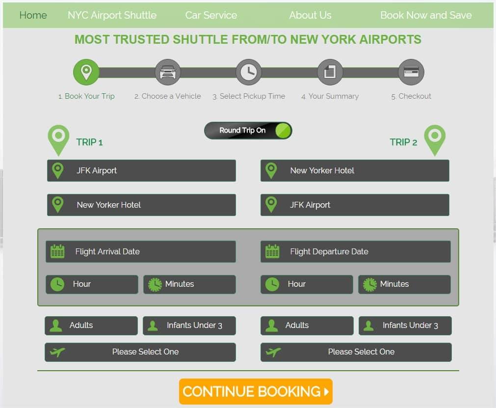 Réserver une navette pour un transfert JFK Manhattan - Horaires de votre vol