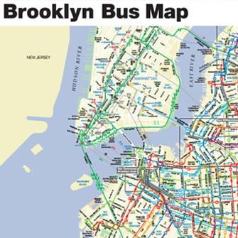 Plan Des Bus De Brooklyn PDF