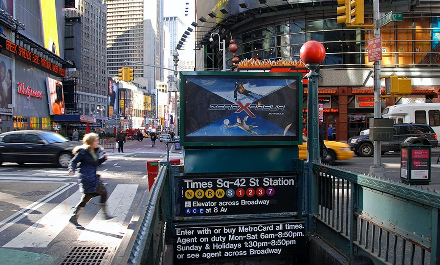 entree-metro-lignes-times-square-new-york