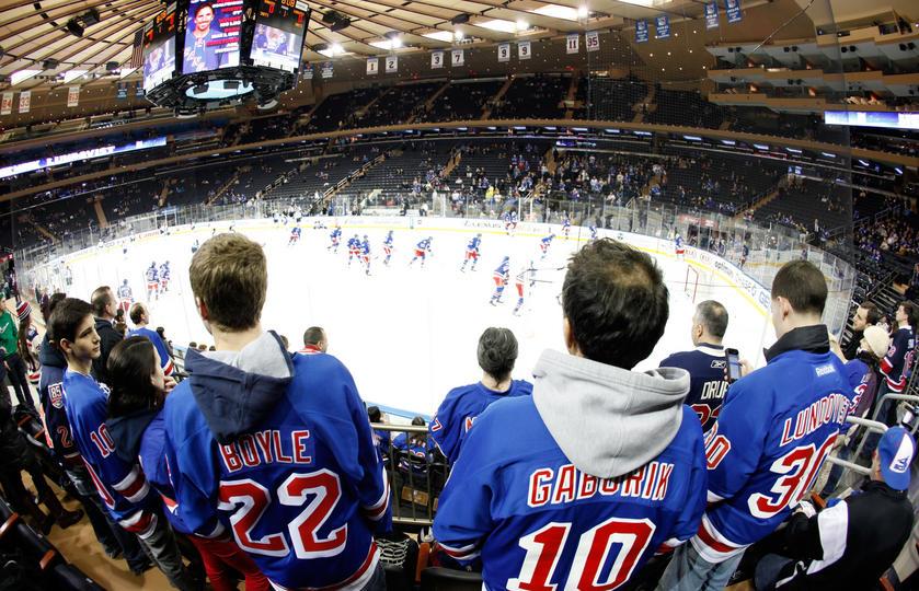 Fans New York Rangers