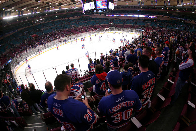 Hockey Nhl Aller Voir Un Match Des Ny Rangers Au