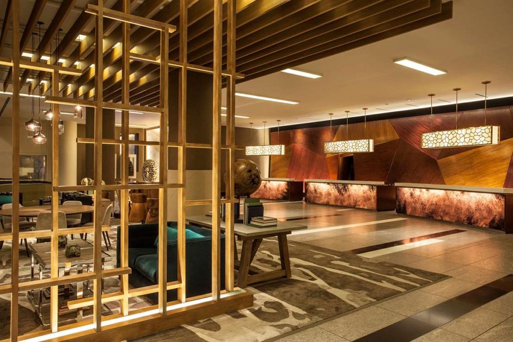 Lobby de l'hôtel The Westin à New York