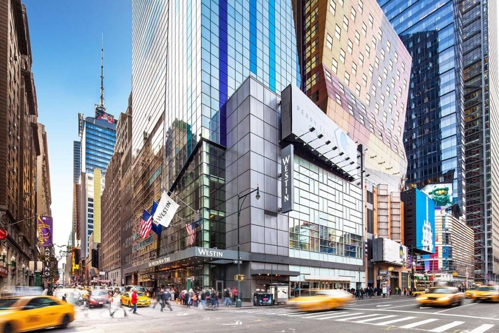 Extérieur de l'hôtel The Westin à New York
