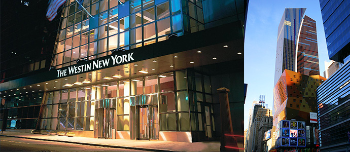 Westin hotel design times square new york blog voyage for Design hotel new york