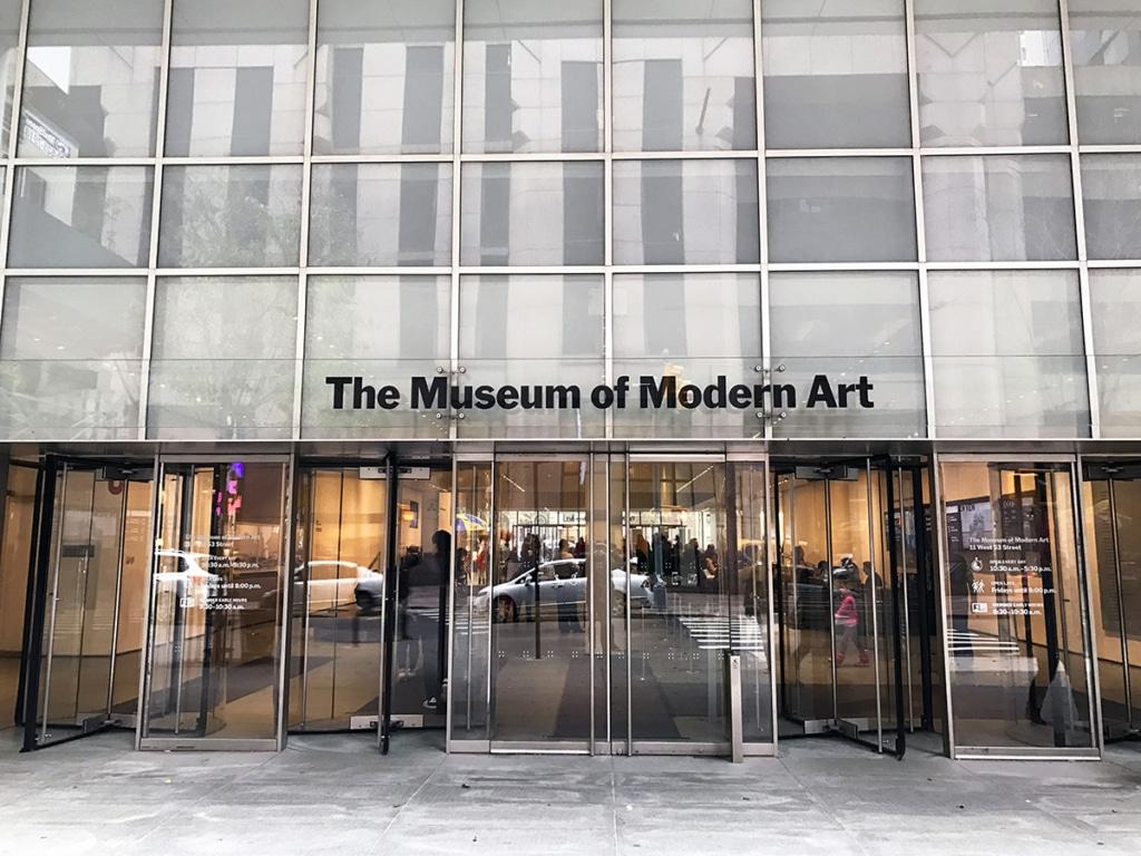 Extérieur du musée MoMA à New York