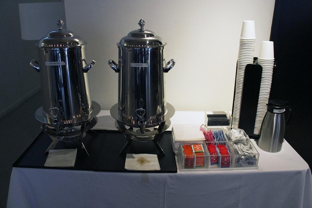 Espace boisson pour le petit déjeuner à Cassa Hotel Times Square