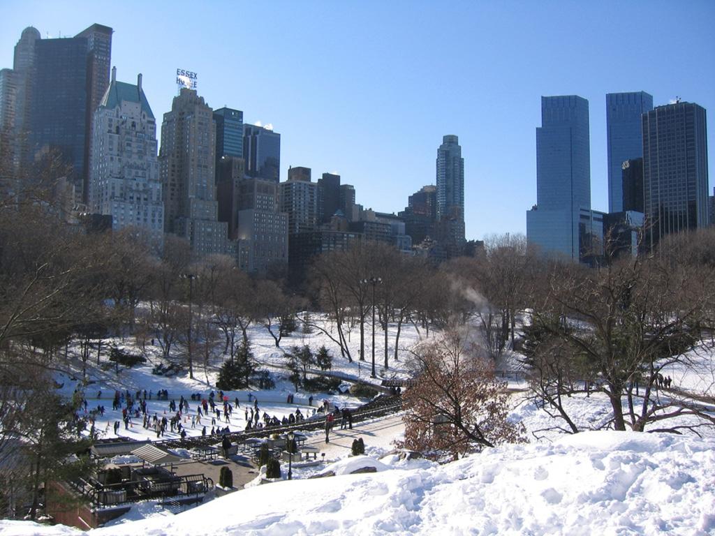 Wollman Rink, patinoire de Central Park à New York