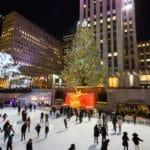 Faire du patin à glace le 1er janvier à New York