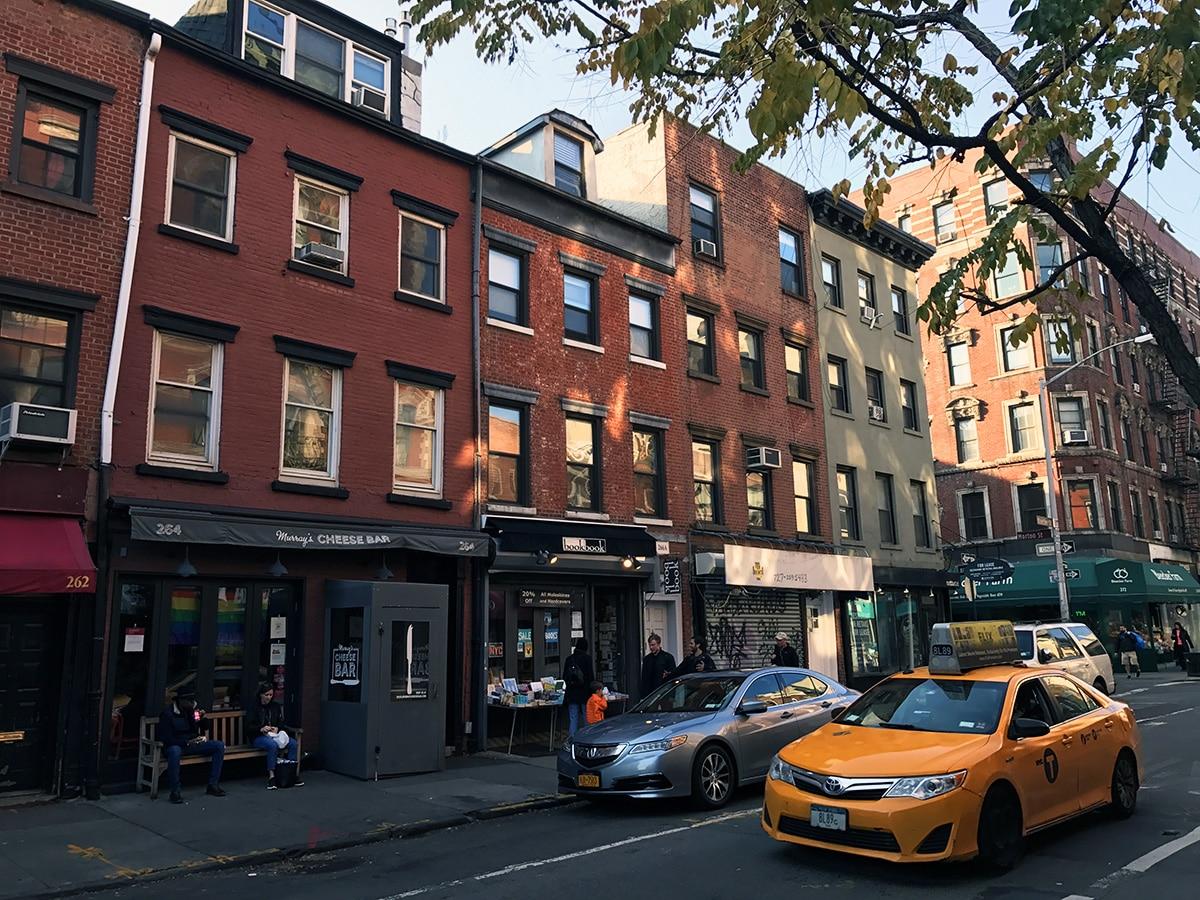 Bâtiments en brique dans le Greenwich Village à New York