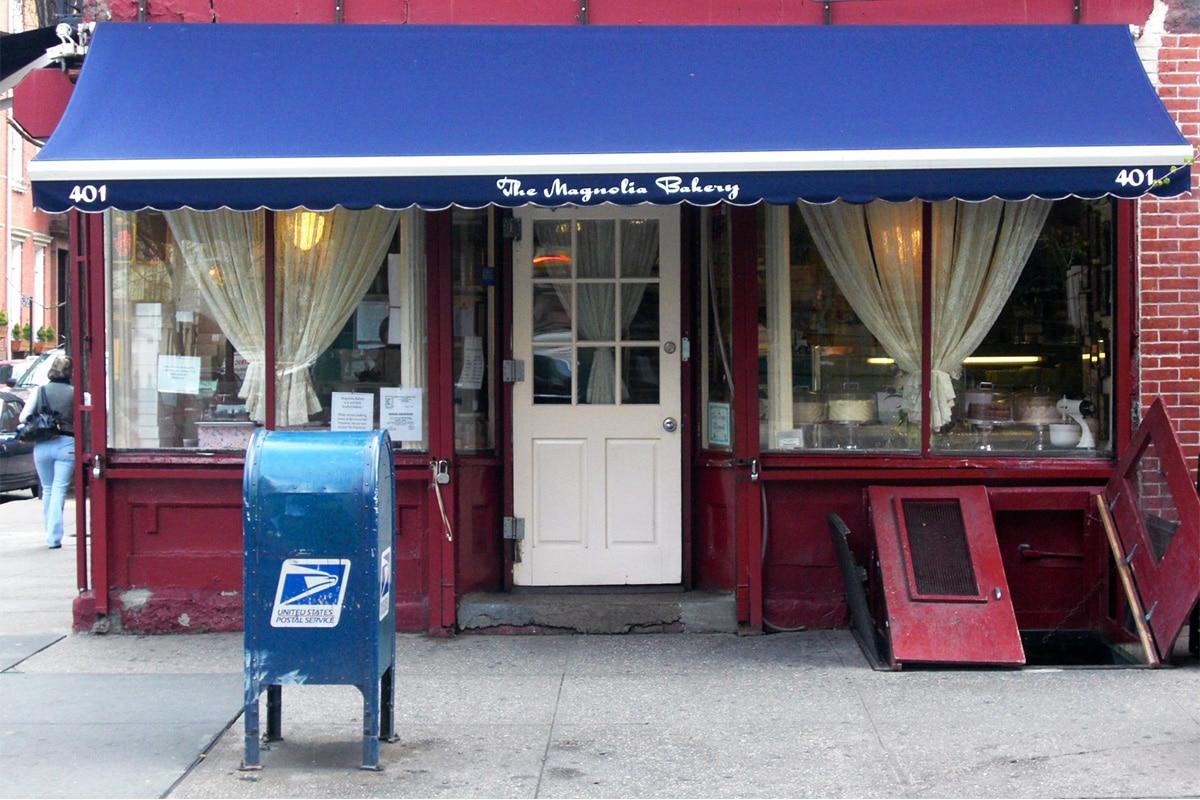 Devanture du Magnolia Bakery à New York