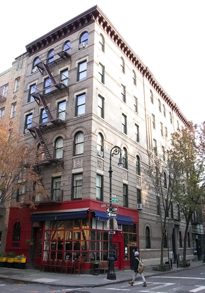Immeuble de la série Friends à New York