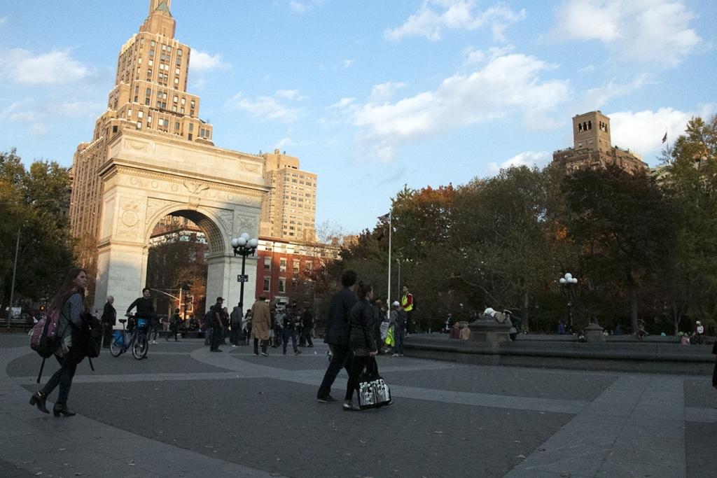 L'arc de triomphe sur Washington Square Park