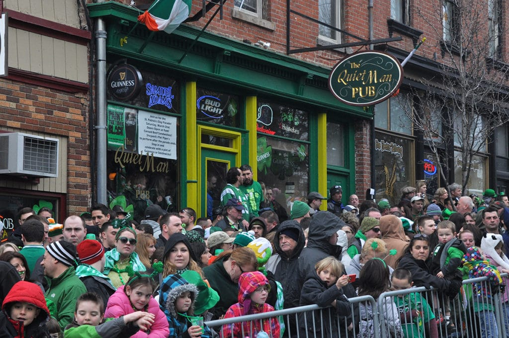 La Saint-Patrick à New York