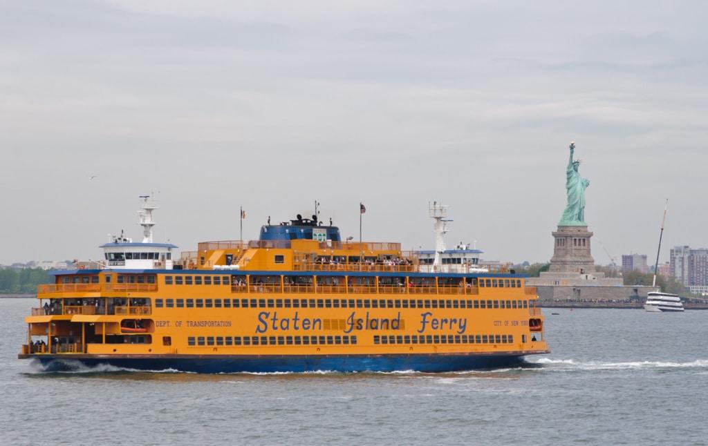 Ferry Staten Island à New York
