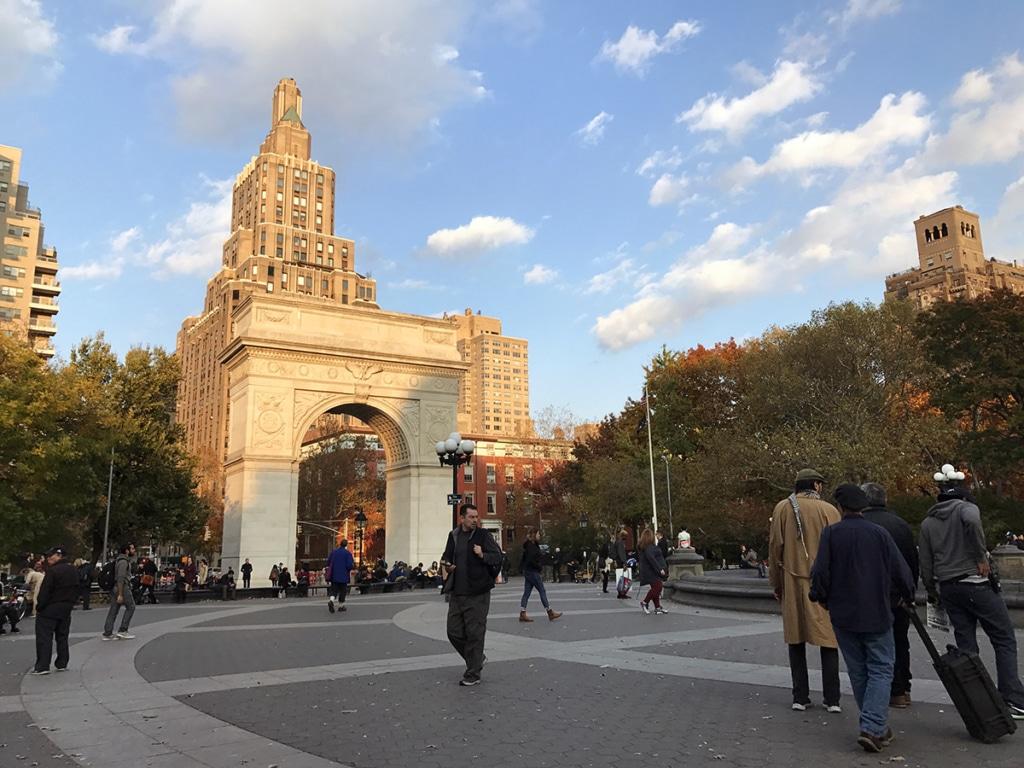 Washington Square Park à New York City