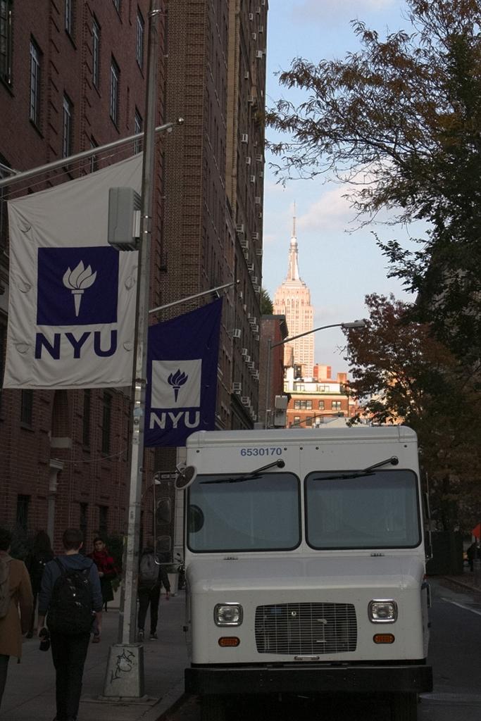 NYU, l'université de New York près de Washington Square Park
