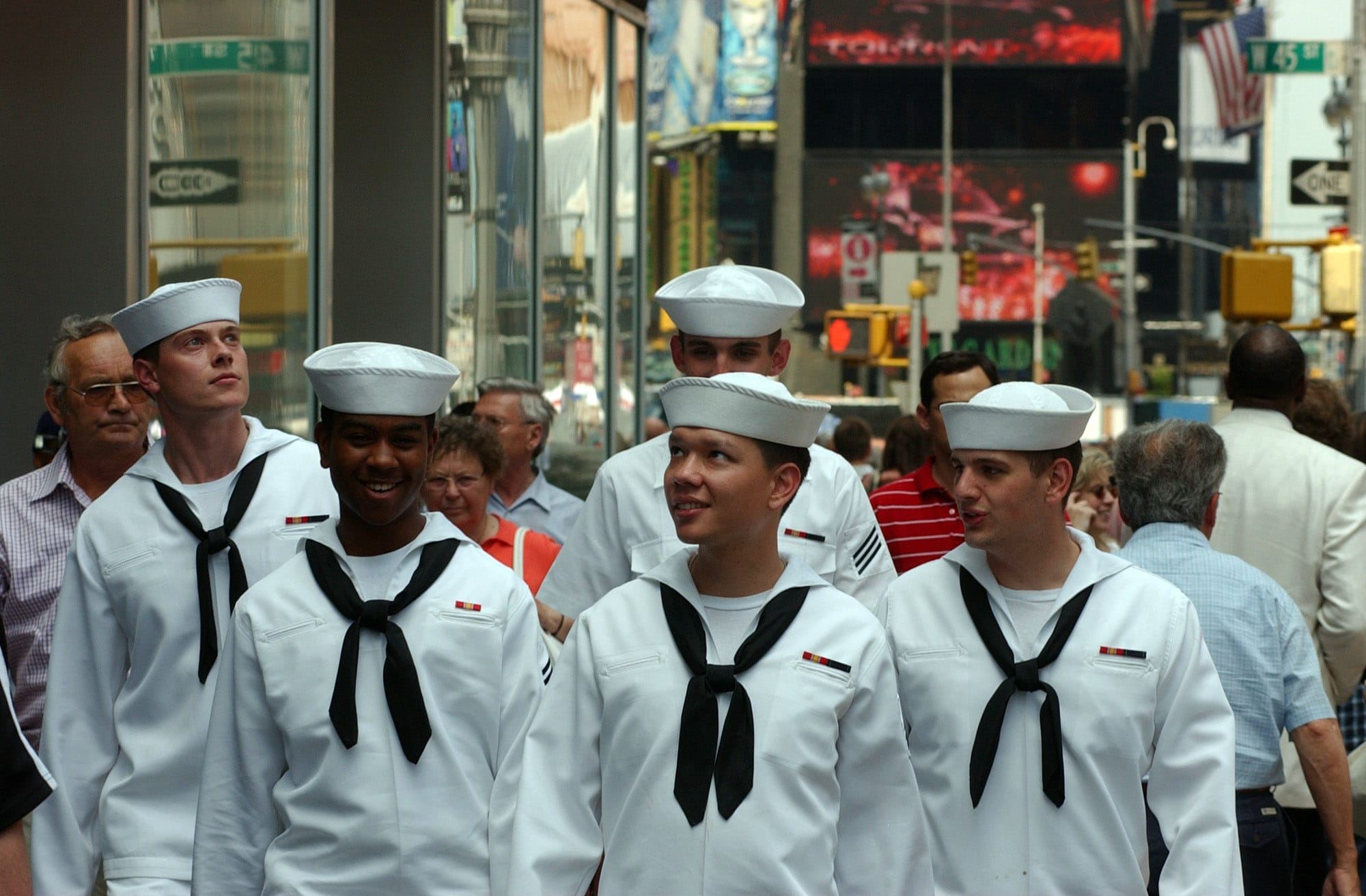New York Fleet Week marins US Navy