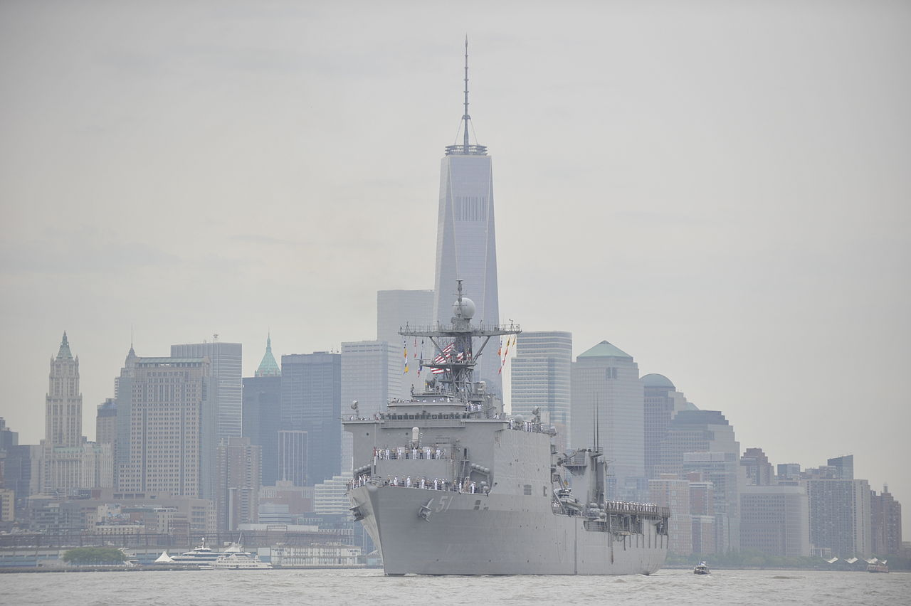 New York fleet week world trade center