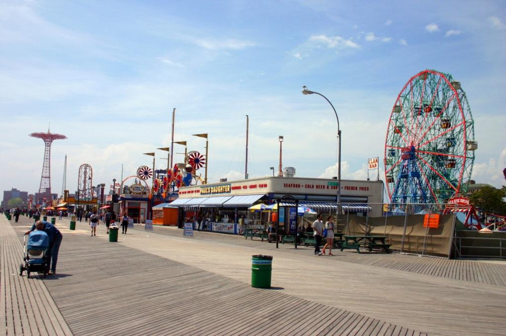 Luna Park à Coney Island à New York