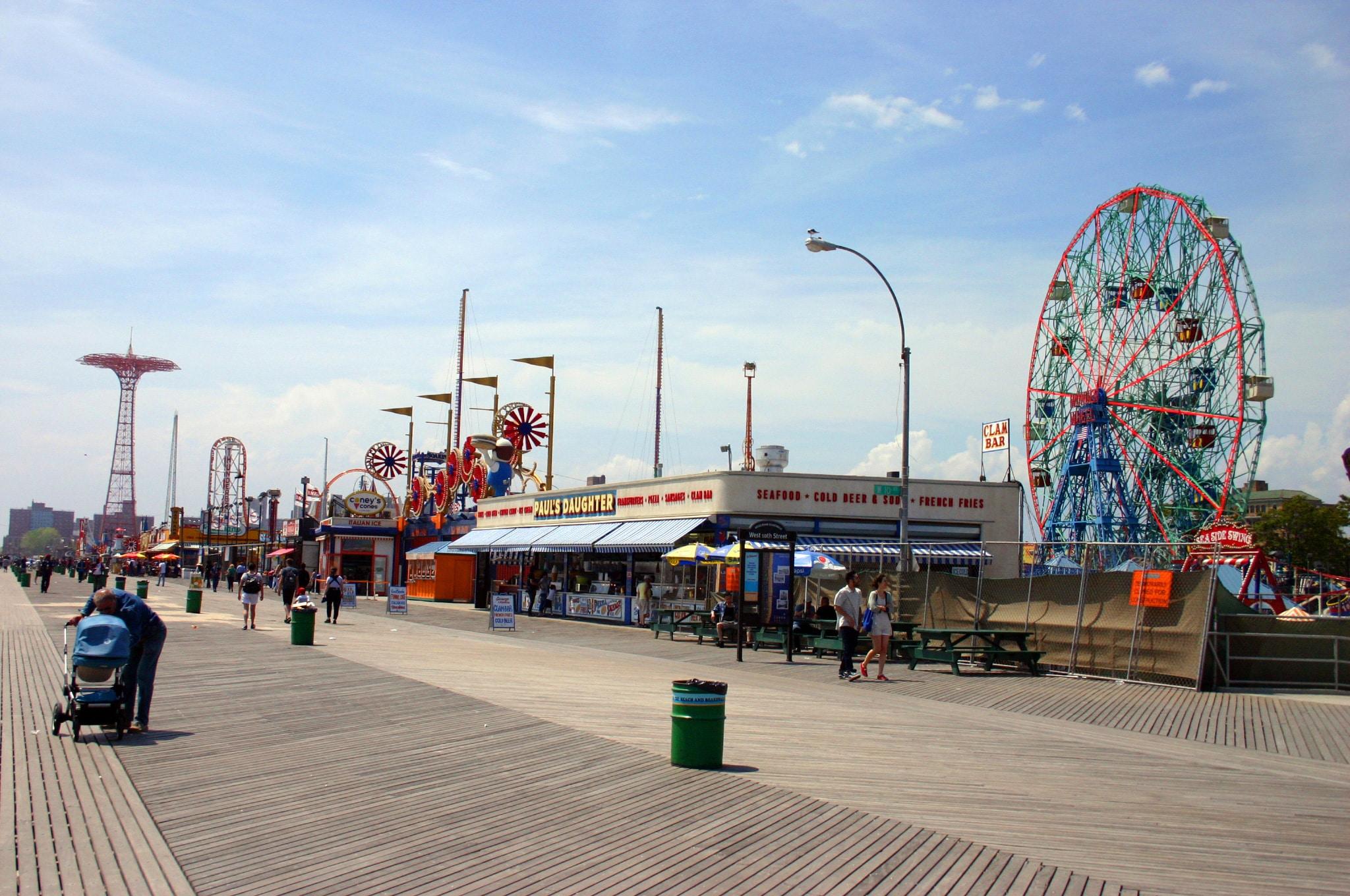 luna park attractions coney island new york blog voyage new york. Black Bedroom Furniture Sets. Home Design Ideas