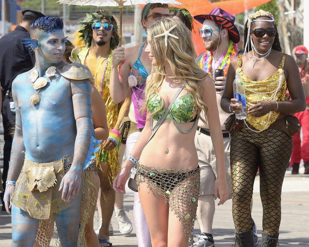 Mermaid Parade à Coney Island à New York